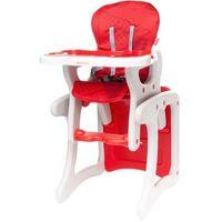Krzesełka do karmienia, 4Baby Krzesełko do karmienia Fashion, Red - BEZPŁATNY ODBIÓR: WROCŁAW!