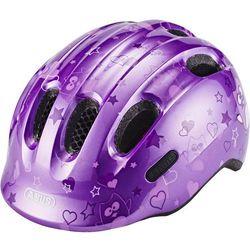 ABUS Smiley 2.0 Kask rowerowy Dzieci, purple star S   45-50cm 2019 Kaski dla dzieci Przy złożeniu zamówienia do godziny 16 ( od Pon. do Pt., wszystkie metody płatności z wyjątkiem przelewu bankowego), wysyłka odbędzie się tego samego dnia.