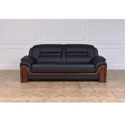 Sofa 3-osobowa PALLADIO czarny