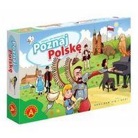 Gry dla dzieci, Poznaj Polskę - gra planszowa - Alexander