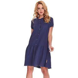 Koszula nocna ciążowa i do karmienia TCB.9902 DN - 100% Bawełna Organiczna - Muślin