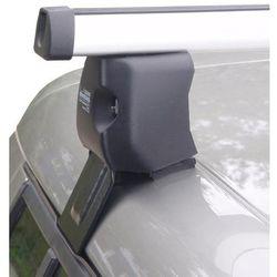 Diheng bagażnik dachowy na relingi dla Škoda Fabia II z zamkiem (ALU) - BEZPŁATNY ODBIÓR: WROCŁAW!