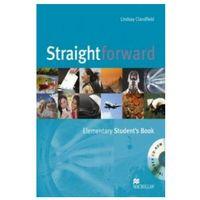 Książki do nauki języka, Straightforward elementary Student`s book + Cd (opr. miękka)