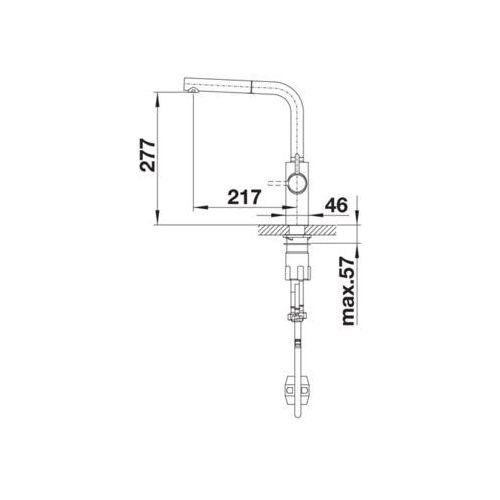 Baterie do kuchni, Bateria Blanco Evol-s 525212
