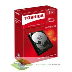 "Toshiba HD3.5"" SATA3 1TB P300 High Perform./7.2k"