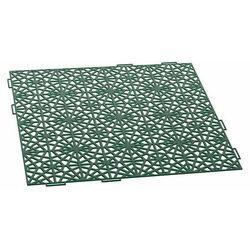 Kratka ażurowa IAK401 39.7 x 39.7 cm 10 mm zielona
