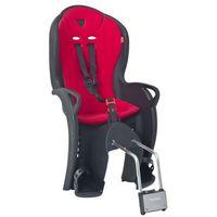 Foteliki rowerowe, Fotelik rowerowy HAMAX Kiss Czarno-czerwony DARMOWY TRANSPORT