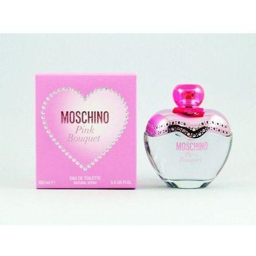 Wody toaletowe damskie, Moschino Pink Bouquet Woda toaletowa 100 ml