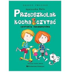 Przedszkolak kocha czytać Czytanie sekwencyjne z.ćwiczeń (opr. broszurowa)