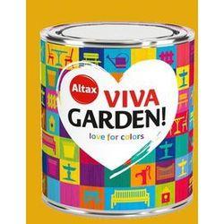 Emalia akrylowa Altax Viva Garden słonecznikowy ogród 0,75 l