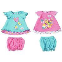 Ubranka dla lalek, Baby born ® Komplety ubranek z motylkiem ZAPF (823552)