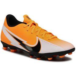 Buty NIKE - Vapor 13 Club Fg/Mg AT7968 801 Laser Orange/Black/White