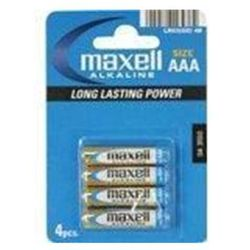 Maxell Bateria AAA Blister 4 sztuki (723671.04 EU) Darmowy odbiór w 20 miastach!