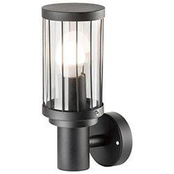Kinkiet LAMPA ścienna FIORD 312303 Polux metalowa OPRAWA elewacyjna IP44 czarna