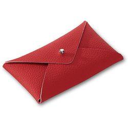 Wizytownik Letter czerwony