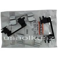 Odpowietrzniki zacisku hamulcowego, Zestaw montażowy tylnych klocków D974 Chevrolet Avalanche 1500 RWD 2003-2006