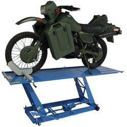 Podnośnik hydrauliczny motocyklowy trapezowy 450 kg