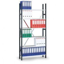 Regał archiwalny Variant, 2550x1000x300 mm, ocynkowane półki, podstawowy