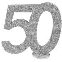 Pozostałe wyposażenie domu, Dekoracja stołu Pięćdziesiątka srebrna 50-tka - 1 szt.