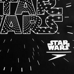 speedo Star Wars Slogan Czepek pływacki Dzieci czarny 2019 Czepki