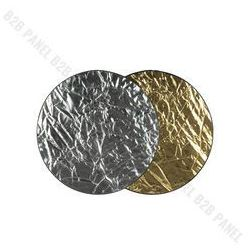 GlareOne Blenda 2w1 srebrno złota, 60cm