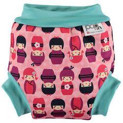 Close, Pieluszka do pływania- Kokeshi Doll XL