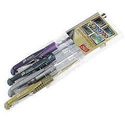 Długopis żelowy metaliczny