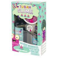 Kreatywne dla dzieci, TUBAN ZESTAW SUPER SLIME XL TURKUSOWY BROKAT ARBUZ
