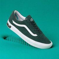Męskie obuwie sportowe, buty VANS - Comfycush Old Skool (Distort)Trking Gr/Tr Wht (VWX) rozmiar: 42