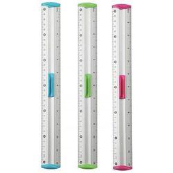 Linijka z uchwytem KEYROAD Measure Clip 30 cm pakowane na displayu mix kolorów
