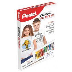 Zestaw Pentel - pastele PTS15 + długopis żelowy BN15