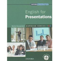 Express Work Skills English For Presentations. Książka Ucznia Plus MultiROM (opr. miękka)