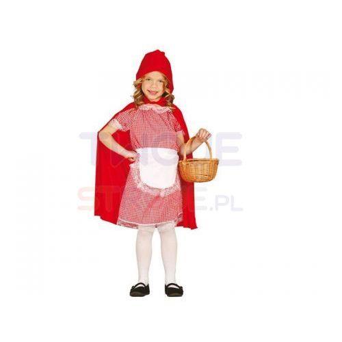 Kostiumy dla dzieci, STRÓJ SUKIENKA CZERWONY KAPTUREK 125-135
