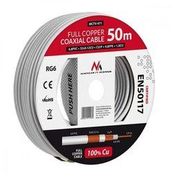 Kabel koncentryczny Maclean MCTV-472 100m- natychmiastowa wysyłka, ponad 4000 punktów odbioru!