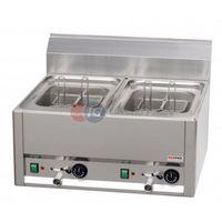 Makaroniarki gastronomiczne, Urządzenie elektryczne do gotowania makaronu 8 koszy Red Fox linia 600 VT 60 EL