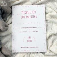 Pozostałe akcesoria dla dzieci, Baby Story - Książka Girl Story