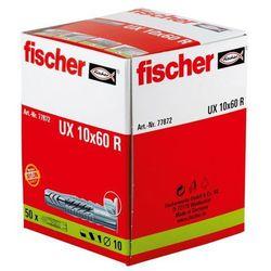 Kołek rozporowy Fischer, 10 x 60 R mm, zestaw, 50 szt.