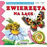 Książki dla dzieci, ZWIERZĘTA NA ŁĄCE WIERSZYKI DLA MALUCHÓW TW (opr. kartonowa)
