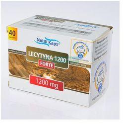 Naturkaps Lecytyna 1200 Forte kaps. - 40 kaps.