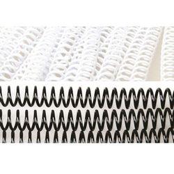 Grzbiety do bindowania spiralne, czarne, 6 mm, 100 sztuk, oprawa do 30 kartek - Super Ceny - Rabaty - Autoryzowana dystrybucja - Szybka dostawa - Hurt