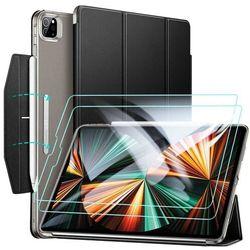 Etui ESR Ascend Trifold + Szkło Hartowane do iPad Pro 12.9 2021 Black