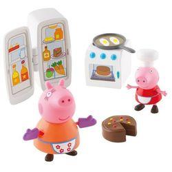Tm Toys Peppa Zestaw Kuchnia + Figurki