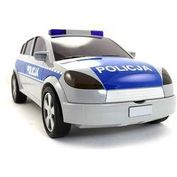 Majorette Policja Radiowóz walizka na resoraki