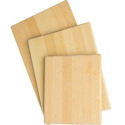 Deska do krojenia z drewna bukowego 400x300x20 mm | STALGAST, 342400