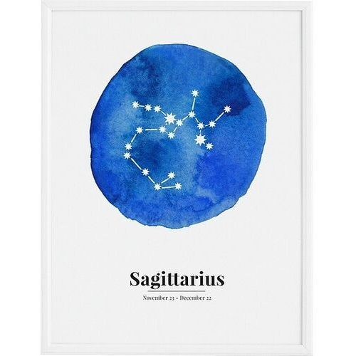Plakaty, Plakat Sagittarius 21 x 30 cm