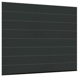 Brama garażowa SEGMENTOWA 42 Z NAPĘDEM Antracyt ISOMATIC