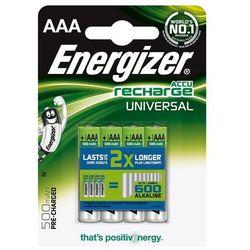 Energizer Akumulator Universal, AAA, HR03, 1,2V, 500mAh, 4szt. Darmowy odbiór w 20 miastach!