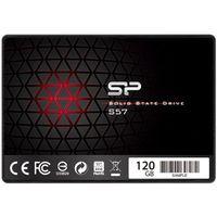 Dyski do notebooków, Dysk SSD Silicon Power S57 120GB SATA3 (SP120GBSS3S57A25) Darmowy odbiór w 20 miastach!