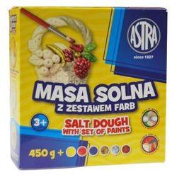 Masa solna ASTRA 450g + zestaw 6 farb do malowania