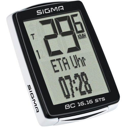 Liczniki rowerowe, Sigma Licznik rowerowy Sigma BC 16.16 STS/CAD